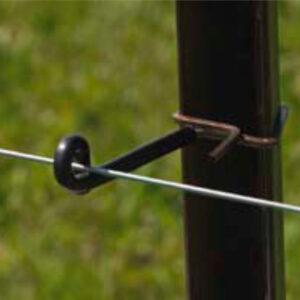 Clips y aisladores para postes de acero
